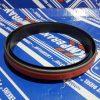 6736-39-1140, 6736-39-1120 Сальник коленвала задний ремонтный Komatsu (сухой)