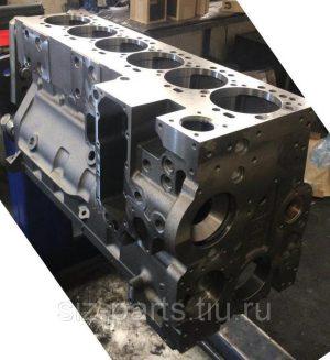 6741-21-1190, 6741-21-1121, 6741-21-1123 Блок цилиндров Komatsu PC300-7 / D63E-12 / SAA6D114E-2