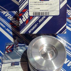 6271-31-2110 Поршень с кольцами Komatsu D37EX-22 / PC130-8