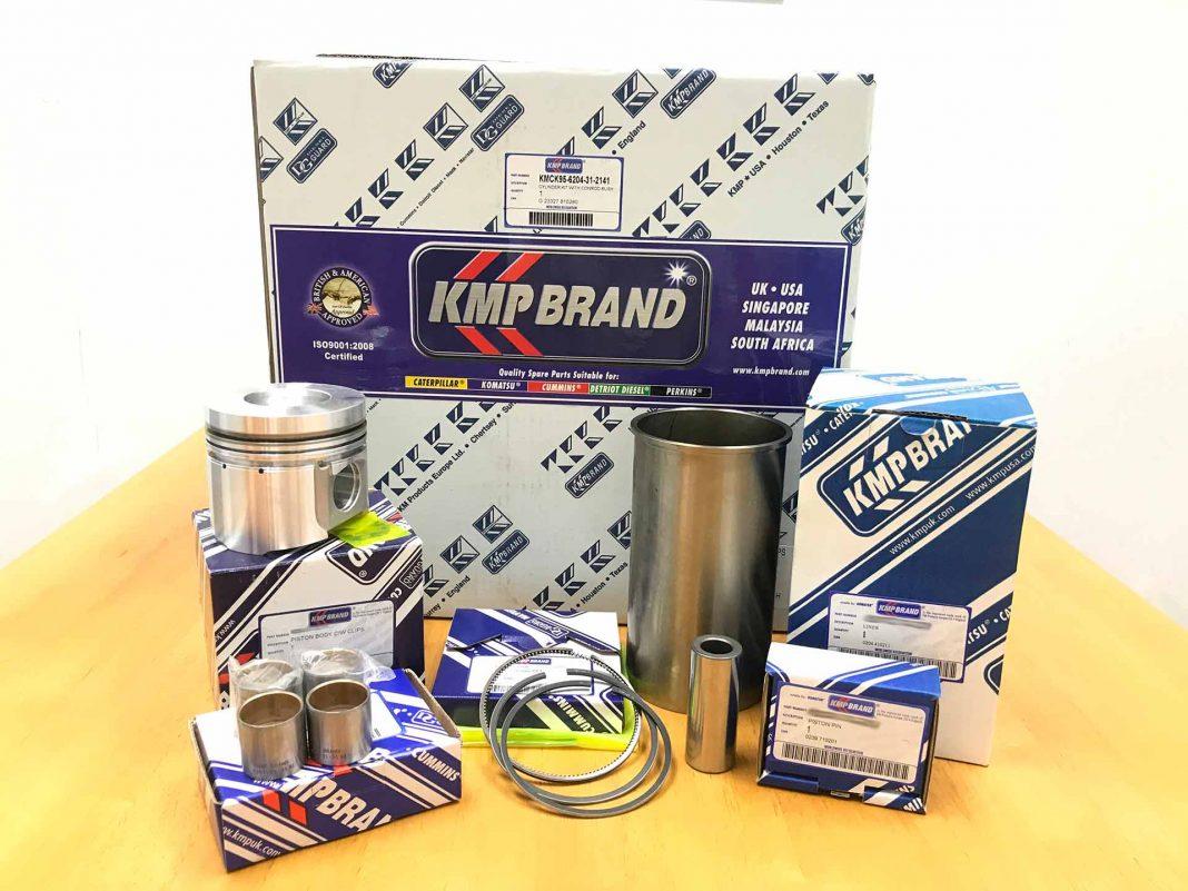 Пополнение склада запчастями KMP Brand (Англия)