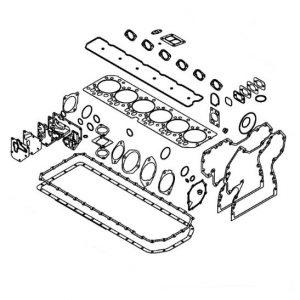 RE527833 Комплект прокладок John Deere 6068H PowerTech (24 Valve)