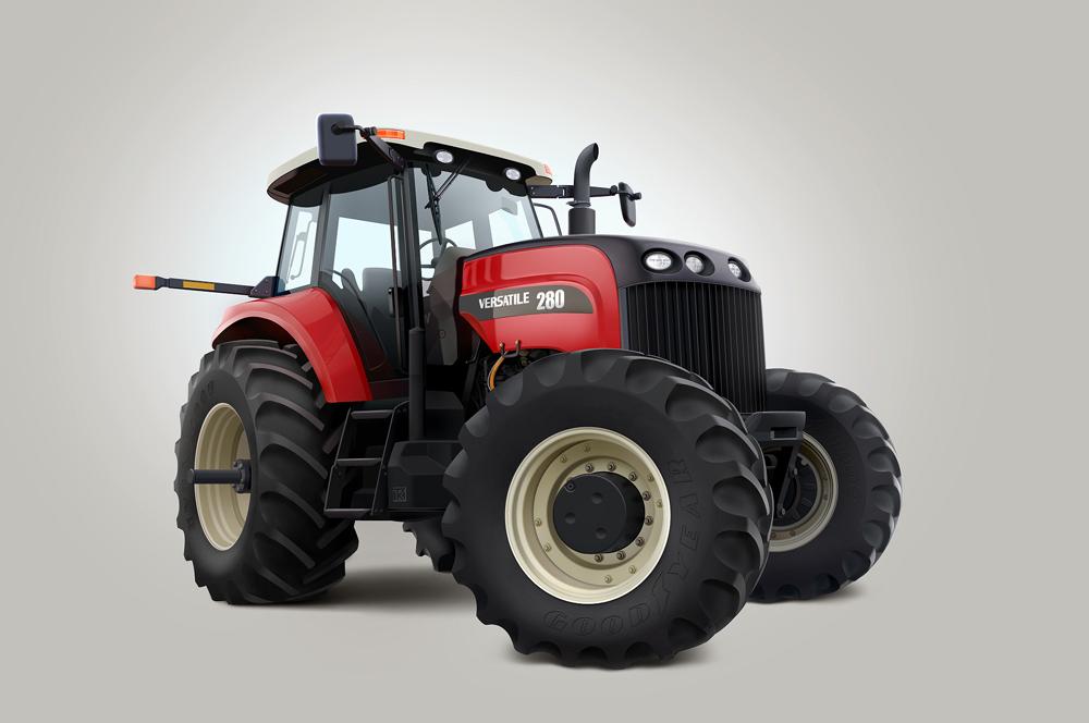 Лонг блок для трактора Buhler Versatile 280